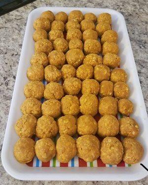 Pumpkin Ball Recipe