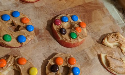 Yummy Healthy M & M Cookies